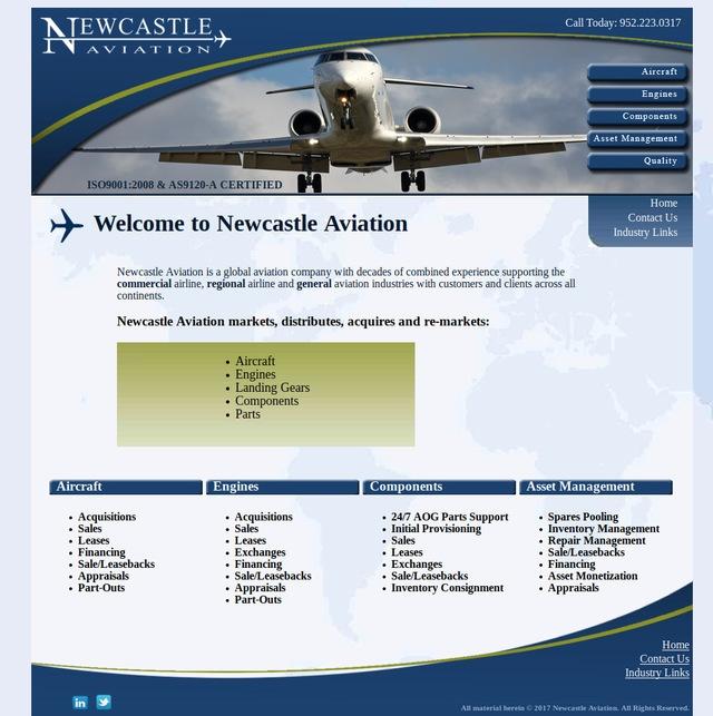 newcastleaviation.com
